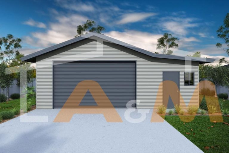 Gable roof with Annexe_1